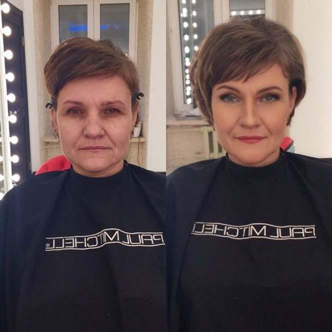 Εντυπωσιακές μεταμορφώσεις γυναικών με μακιγιάζ από τον Ravil Agmalov (8)