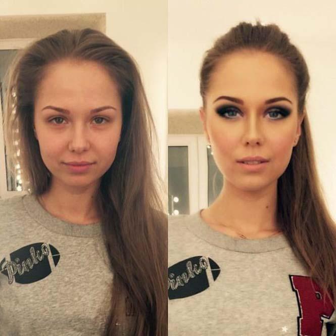 Εντυπωσιακές μεταμορφώσεις γυναικών με μακιγιάζ από τον Ravil Agmalov (9)