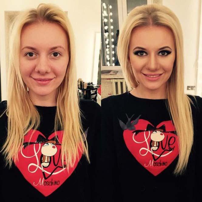 Εντυπωσιακές μεταμορφώσεις γυναικών με μακιγιάζ από τον Ravil Agmalov (10)