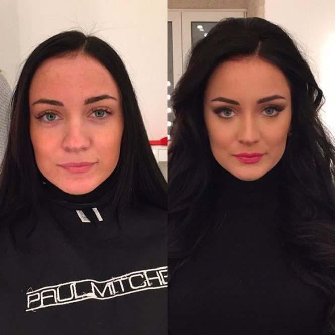 Εντυπωσιακές μεταμορφώσεις γυναικών με μακιγιάζ από τον Ravil Agmalov (13)