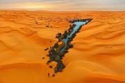 Εντυπωσιακή όαση στην μέση της Σαχάρα (1)