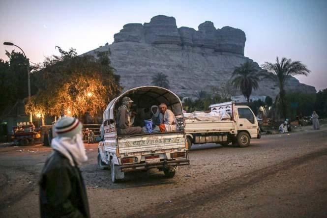 Οι εργάτες στα λατομεία ασβεστολίθου της Αιγύπτου έχουν ένα πολύ επικίνδυνο επάγγελμα (15)