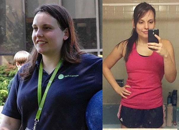 25 γυναίκες που πέτυχαν ένα εντυπωσιακό αδυνάτισμα και άλλαξαν εντελώς το σώμα τους (7)