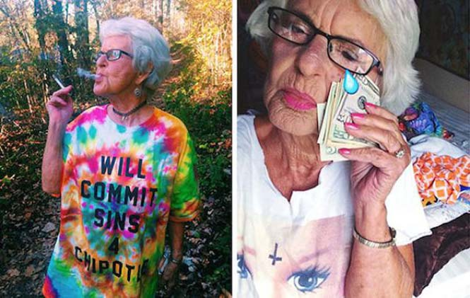 Η 86χρονη γιαγιά που έχει τρελάνει το Internet (6)