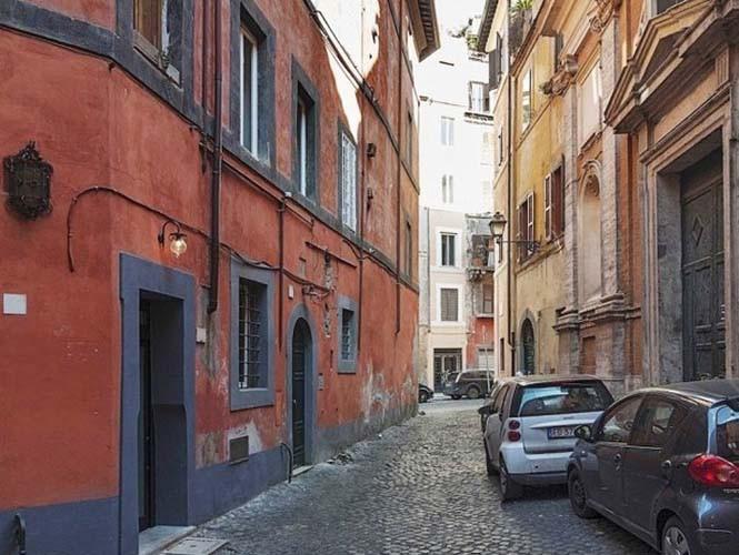 Μικροσκοπικό διαμέρισμα στη Ρώμη που έχει όλα τα απαραίτητα (1)