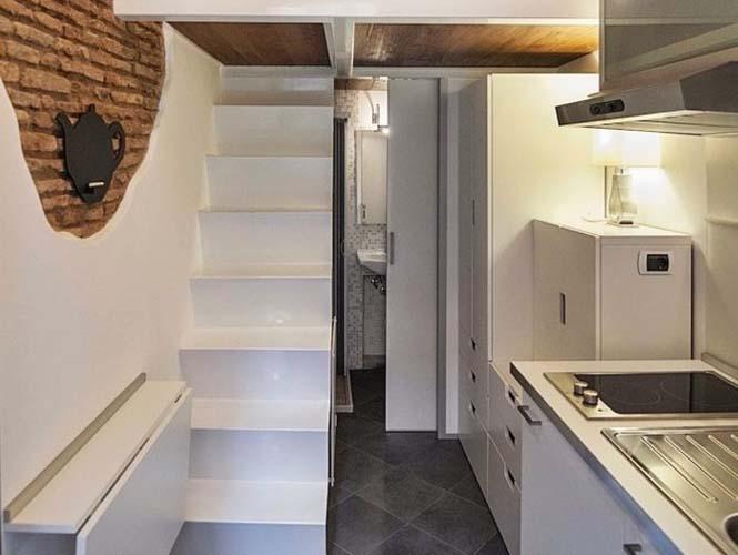 Μικροσκοπικό διαμέρισμα στη Ρώμη που έχει όλα τα απαραίτητα (4)