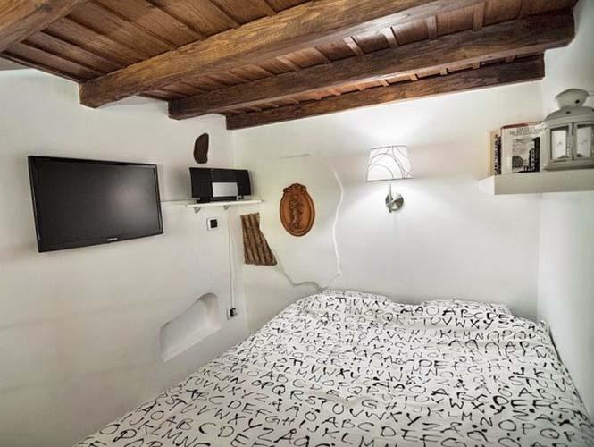 Μικροσκοπικό διαμέρισμα στη Ρώμη που έχει όλα τα απαραίτητα (10)