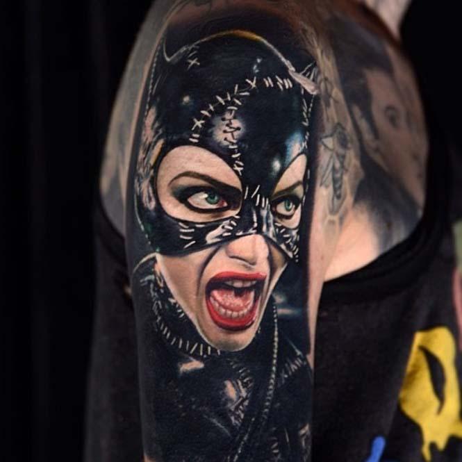Ο Nikko Hurtado ζωντανεύει χαρακτήρες ταινιών μέσω εντυπωσιακών τατουάζ (2)