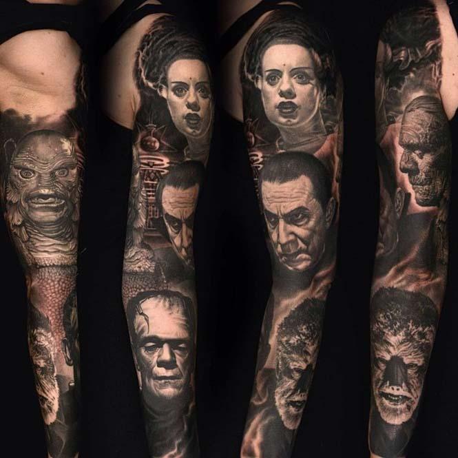 Ο Nikko Hurtado ζωντανεύει χαρακτήρες ταινιών μέσω εντυπωσιακών τατουάζ (5)