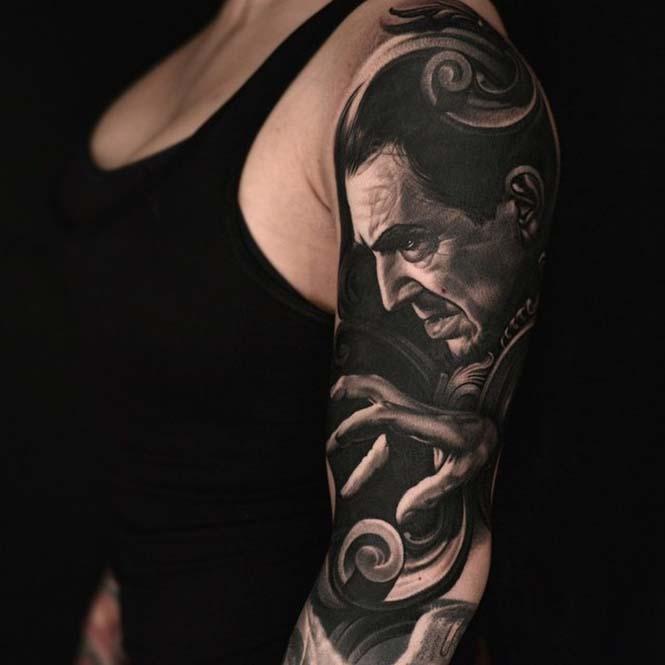Ο Nikko Hurtado ζωντανεύει χαρακτήρες ταινιών μέσω εντυπωσιακών τατουάζ (10)