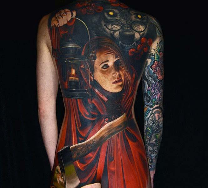 Ο Nikko Hurtado ζωντανεύει χαρακτήρες ταινιών μέσω εντυπωσιακών τατουάζ (16)