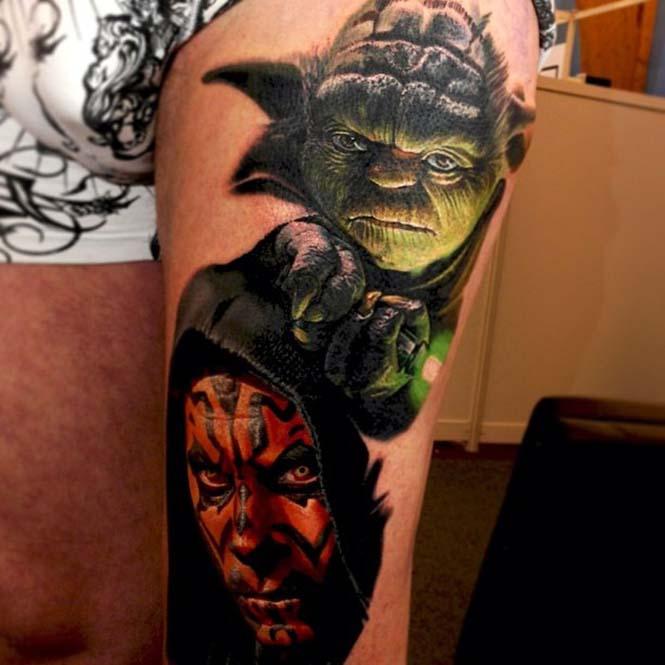Ο Nikko Hurtado ζωντανεύει χαρακτήρες ταινιών μέσω εντυπωσιακών τατουάζ (18)