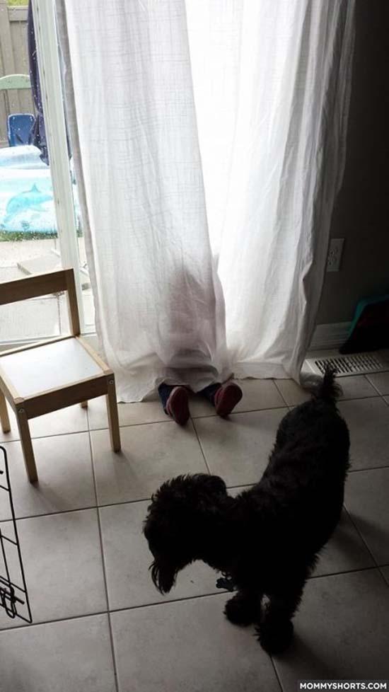 Παιδιά που δεν έχουν καταλάβει ακριβώς πως παίζεται το κρυφτό (4)
