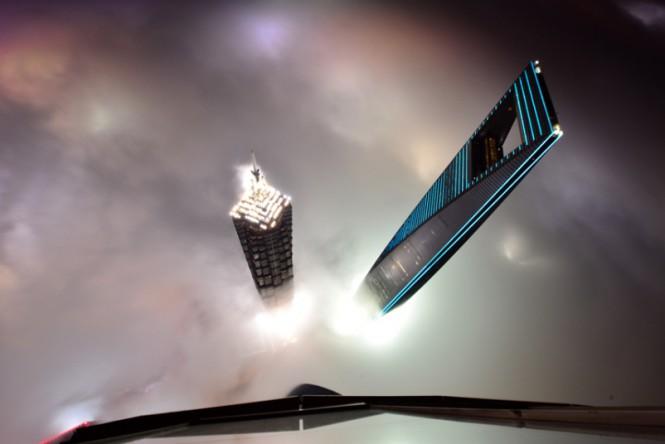 Κοιτάζοντας από τον 121ο όροφο του Shanghai Tower | Φωτογραφία της ημέρας