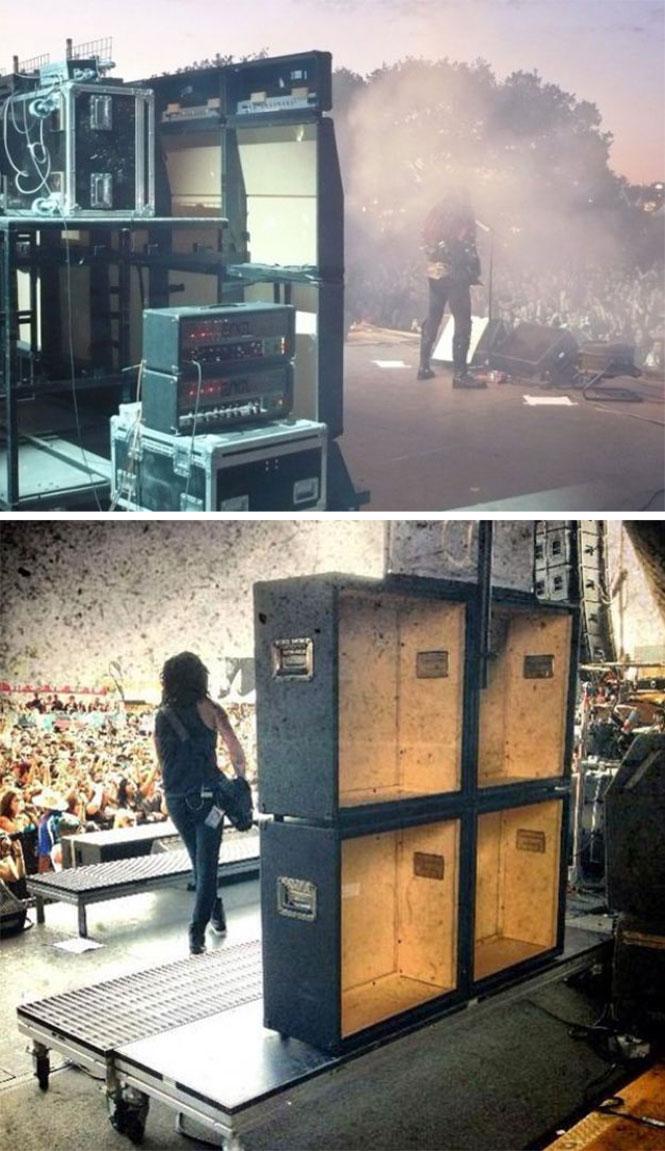 Ακόμη και σε μια συναυλία τα φαινόμενα απατούν | Φωτογραφία της ημέρας