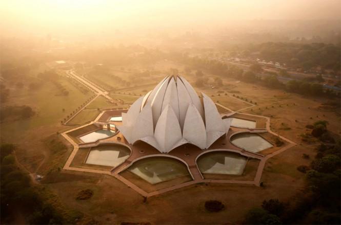Ναός του Λωτού στην Ινδία | Φωτογραφία της ημέρας