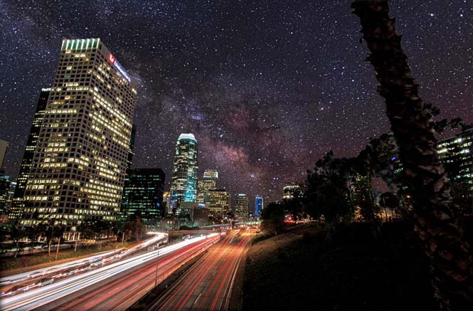Πως θα φαινόταν ο νυχτερινός ουρανός χωρίς φωτορύπανση (7)