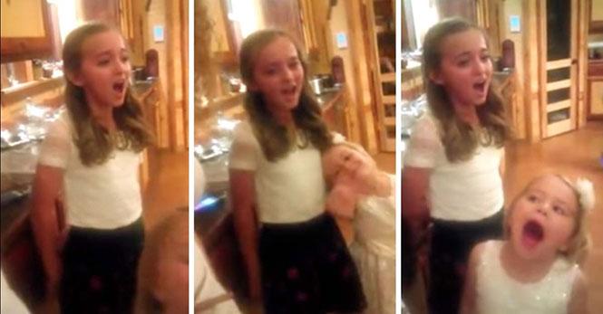 Ποια Adele; 11χρονη τραγουδάει εκπληκτικά το «Rolling in the deep»