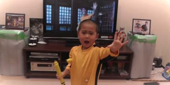 5χρονος Bruce Lee