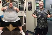 Άνδρας έχασε 180 κιλά σε 700 μέρες