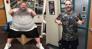 Εκπληκτικό αδυνάτισμα: Ο άνδρας που έχασε 180 κιλά σε 700 μέρες