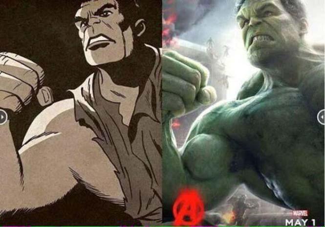 Avengers: Comic vs Κινηματογράφος (1)