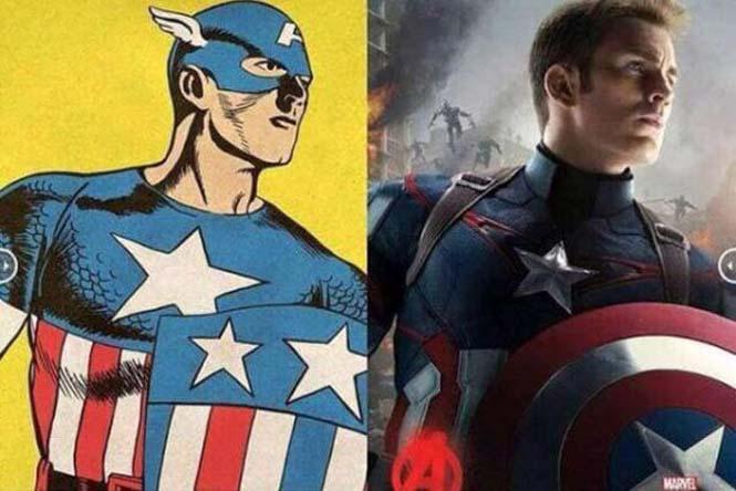 Avengers: Comic vs Κινηματογράφος (3)