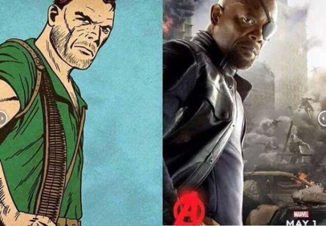 Avengers: Comic vs Κινηματογράφος (4)