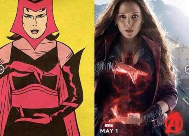 Avengers: Comic vs Κινηματογράφος (5)