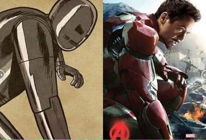 Avengers: Comic vs Κινηματογράφος (6)