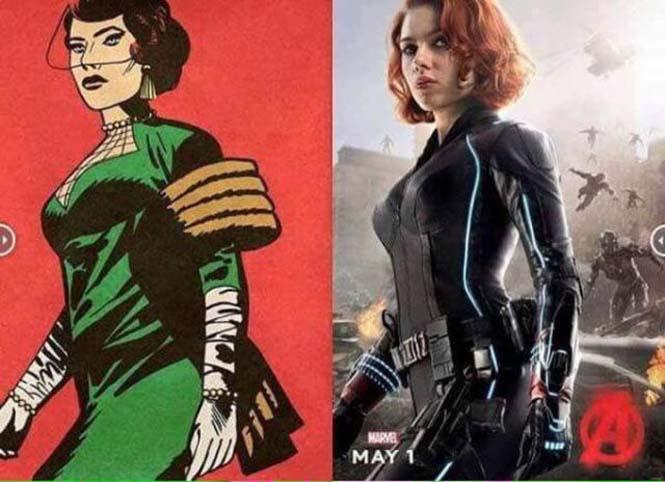 Avengers: Comic vs Κινηματογράφος (8)