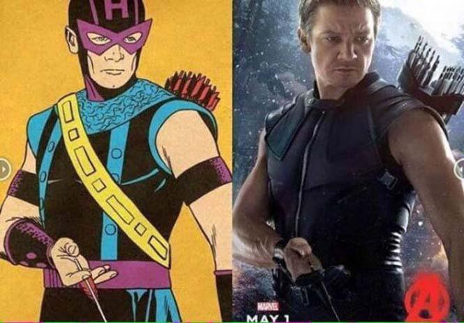 Avengers: Comic vs Κινηματογράφος (9)