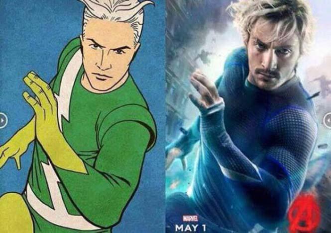 Avengers: Comic vs Κινηματογράφος (10)