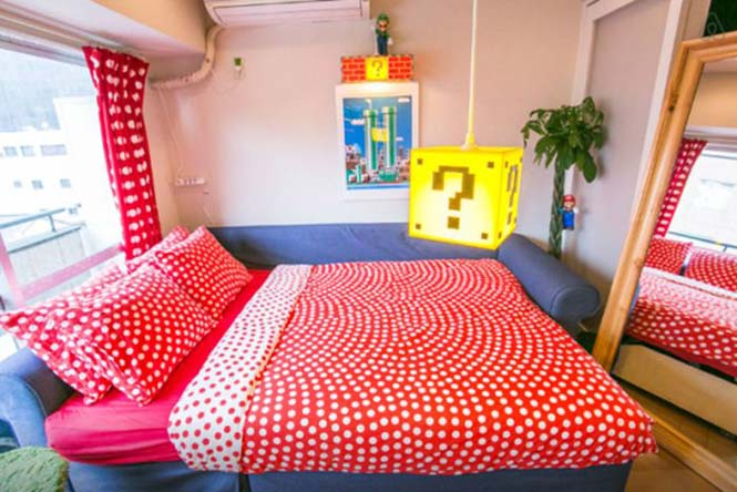 Αυτό το διαμέρισμα στο Τόκιο είναι το όνειρο κάθε fan του Super Mario (2)