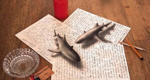 Εκπληκτικές 3D ζωγραφιές που «βγαίνουν» απ' το χαρτί #5