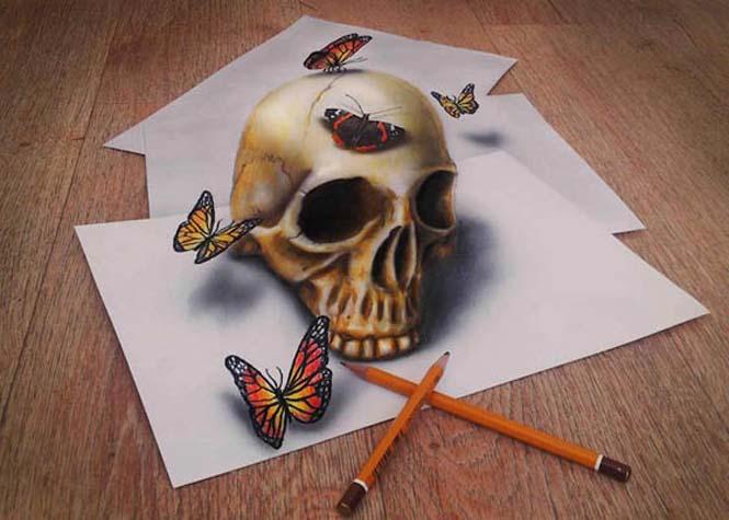 Εκπληκτικές 3D ζωγραφιές που «βγαίνουν» απ' το χαρτί #5 (3)