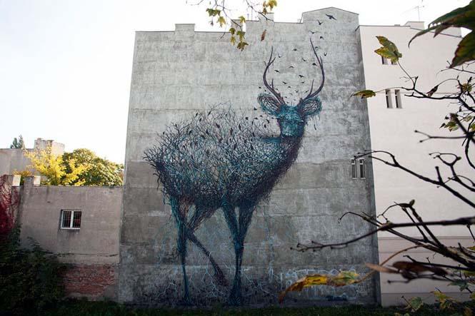 Η εκπληκτική τέχνη του δρόμου από τον DALeast (3)