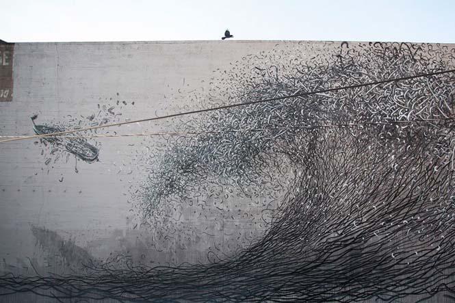 Η εκπληκτική τέχνη του δρόμου από τον DALeast (4)