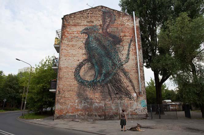 Η εκπληκτική τέχνη του δρόμου από τον DALeast (8)