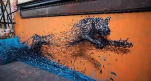 Η εκπληκτική τέχνη του δρόμου από τον DALeast
