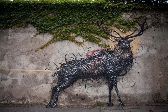 Η εκπληκτική τέχνη του δρόμου από τον DALeast (15)