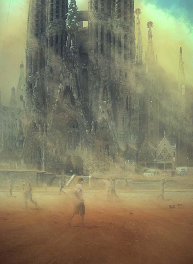 Καλλιτέχνης οραματίζεται το τέλος του κόσμου (3)