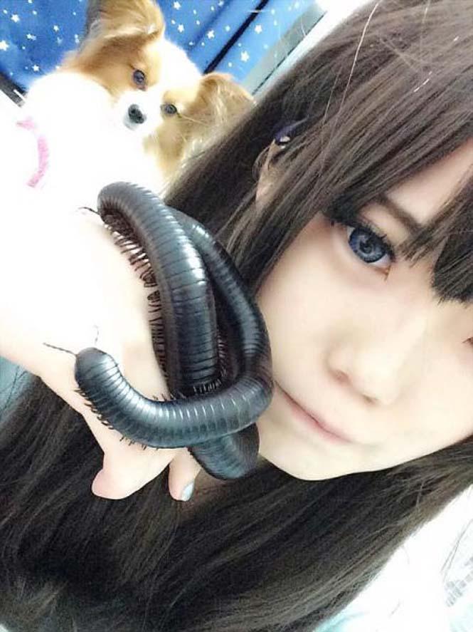 Αυτό το κορίτσι έχει ένα εξαιρετικά ασυνήθιστο κατοικίδιο (5)