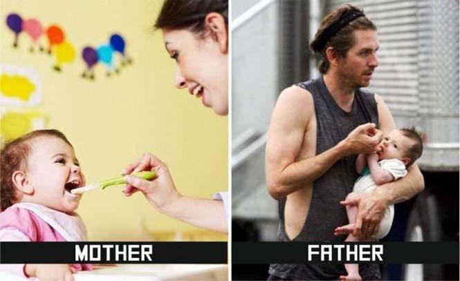 Μαμάδες και μπαμπάδες σε ξεκαρδιστικές φωτογραφίες (2)