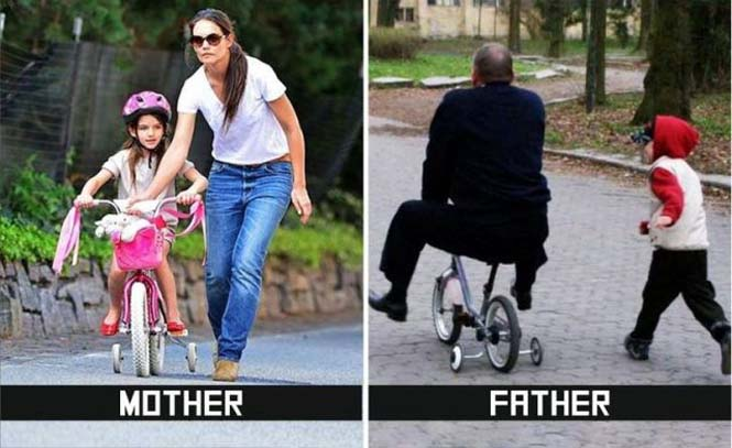 Μαμάδες και μπαμπάδες σε ξεκαρδιστικές φωτογραφίες (4)