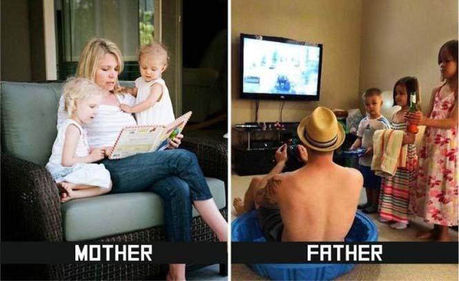 Μαμάδες και μπαμπάδες σε ξεκαρδιστικές φωτογραφίες (5)
