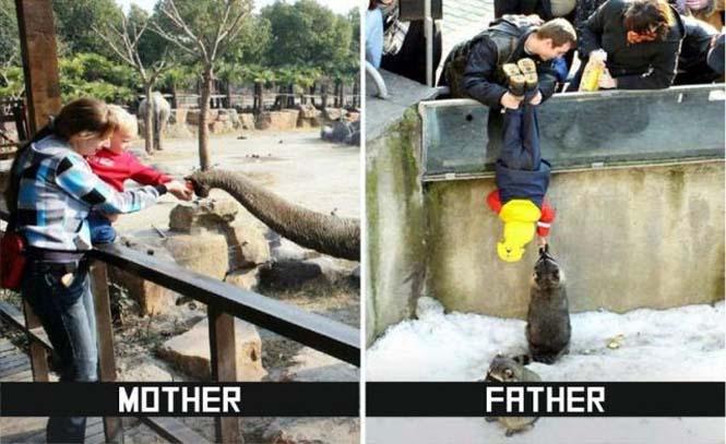 Μαμάδες και μπαμπάδες σε ξεκαρδιστικές φωτογραφίες (7)