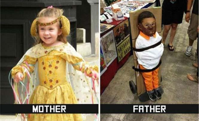 Μαμάδες και μπαμπάδες σε ξεκαρδιστικές φωτογραφίες (8)