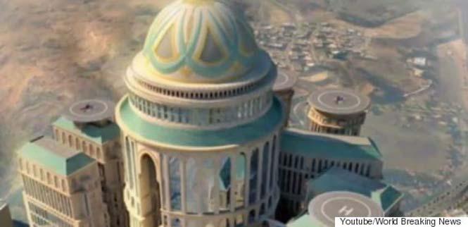 Το μεγαλύτερο ξενοδοχείο του κόσμου κατασκευάζεται στη Μέκκα (1)