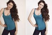 Μεταμορφώνοντας καθημερινές γυναίκες σε super models με την βοήθεια του Photoshop